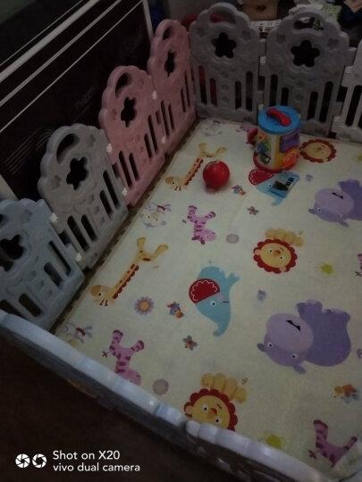 澳贝(AUBY)婴儿童游戏围栏爬行学步安全护栏室内户外宇宙星空围栏12+2男女孩玩具464324DS 晒单图