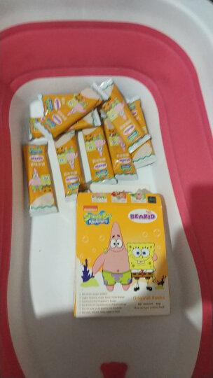美国Beakid海绵宝宝米饼入口即化磨牙棒饼干不添加糖和食盐零食54g 原味 晒单图