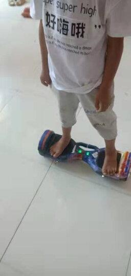 森林狼 成人儿童智能平衡车两轮双轮7寸体感车玩具车电动迷你思维平衡车儿童扭扭车 炫彩版-电镀银(自平衡+蓝牙+三档可调) 晒单图