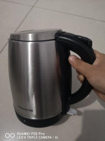 九阳(Joyoung)热水壶烧水壶电水壶 1.7L大容量304不锈钢优质温控 家用电热水壶JYK-17S08【邓伦推荐】 晒单图
