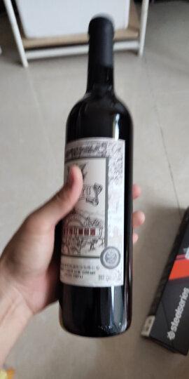 张裕(CHANGYU)红酒 玫瑰红甜红葡萄酒750ml*6瓶整箱装(甜酒) 晒单图