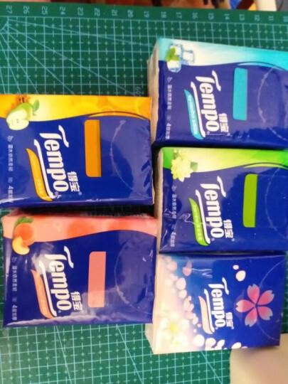 得宝(Tempo) 儿童版迷你纸手帕 4层加厚小包纸巾 7张*24包 天然无香 晒单图