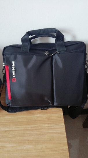 SWISSGEAR 时尚斜挎多用电脑包14.6英寸 男女商务公文包 SA-5015黑色 晒单图