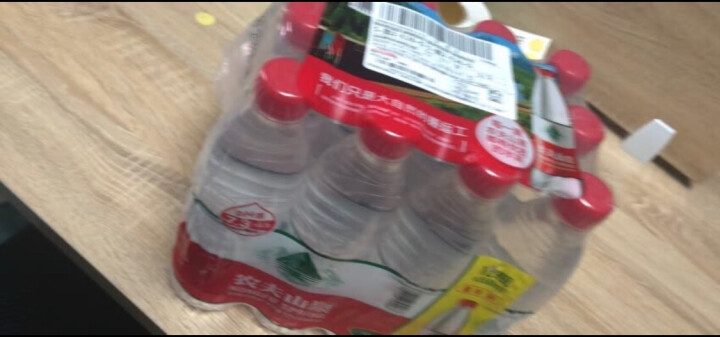 农夫山泉 饮用水 饮用天然水塑膜量贩装550ml*12瓶 晒单图