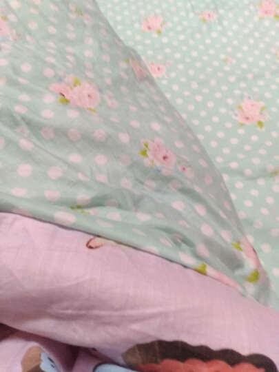 四件套纯棉套件卡通全棉加绒床单床上四件套 法兰绒珊瑚绒学生三件套床品套件 风中倩影 1.5-1.8米床 被套2x2.3米 四件套 晒单图