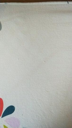 九洲鹿家纺 床笠家纺 全棉床笠三件套 席梦思保护套床罩床垫罩床套 防滑床单 楚楚花颜 180x200cm 晒单图