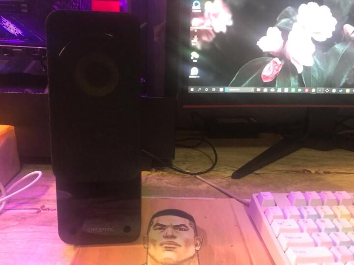 创新(Creative)Inspire T12音箱MF1625 2.0声道高音质小音箱 电脑书架多媒体音响低音炮 晒单图