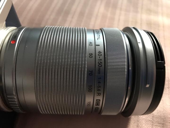 奥林巴斯(OLYMPUS)M.ZUIKO DIGITAL ED 14-42mm F3.5-5.6 EZ 黑色 电动饼干变焦镜头 晒单图