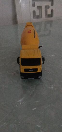 凯迪威 工程汽车模型 1:50合金混凝土搅拌车8轮原厂仿真汽车儿童玩具 男孩 625007 晒单图