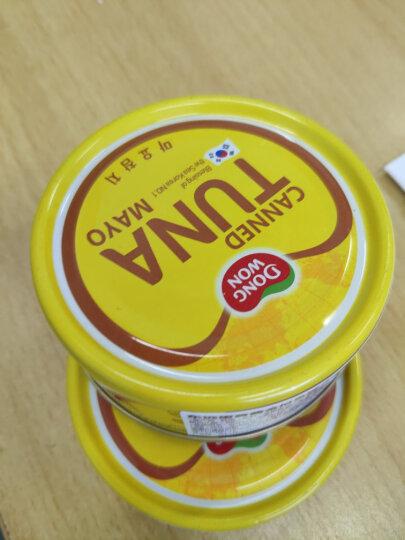 韩国进口东远蛋黄酱金枪鱼罐头沙拉寿司比萨材料即食罐头食品100g 1份 晒单图