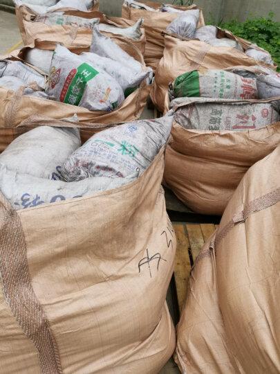 蓝桂圆(languiyuan) 吨袋 全新黄色太空袋集装袋吨包袋污泥预压袋大开口 9090110无盖加固1.2吨 4根吊环兜底款 晒单图