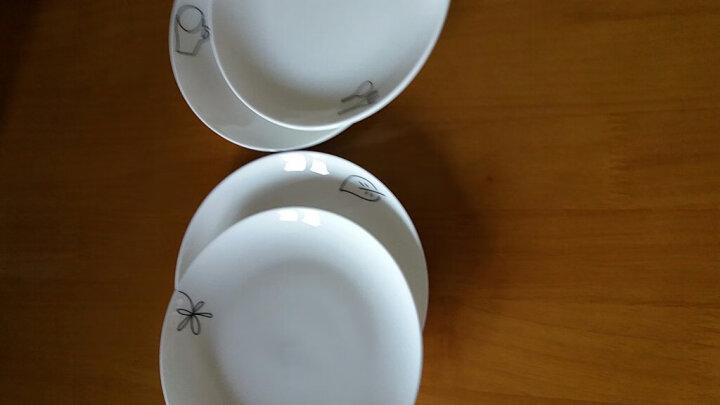 国玥 陶瓷盘子套装骨瓷西餐盘创意西式小牛排盘骨碟物语 6英寸杯子图案 晒单图