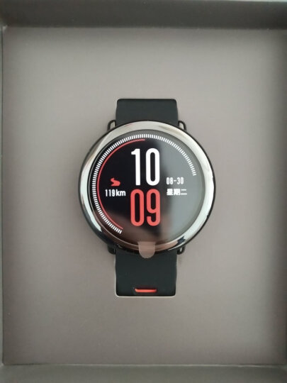 AMAZFIT智能运动手表华米科技出品 户外GPS定位watch 运动心率陶瓷表圈 蓝牙听歌 快捷支付 黑色 晒单图