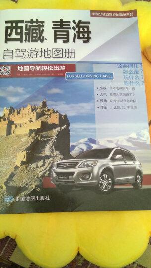 2018中国分省自驾游地图册系列-西藏、青海自驾游地图册 晒单图
