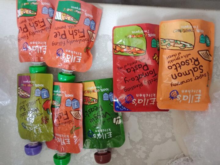 Ella's kitchen 艾拉厨房有机蔬菜泥肉泥混合泥 进口宝宝辅食零食 7个月以上 甜椒鸡肉面(红色) 晒单图