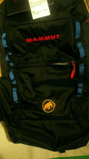 猛犸象(MAMMUT)背包 男女双肩包户外登山包轻便运动包2510-02490 黑花色12升 晒单图