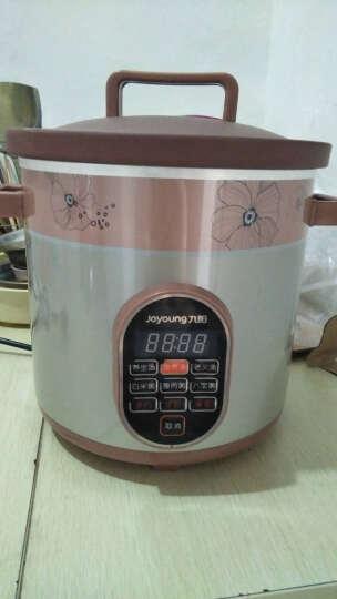 九阳(Joyoung)电炖锅 电炖盅 紫砂 养生全自动预约家用电砂锅陶瓷煮粥煲汤锅M3525 晒单图