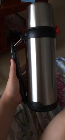 富光 大容量真空不锈钢保温壶 家用户外运动保温杯具 旅行车载保温水壶 1.8L 闪蓝色 晒单图