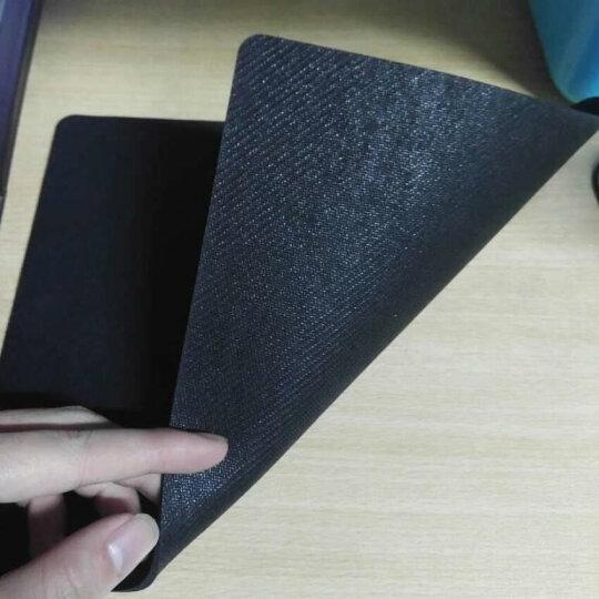 得力(deli)耐磨办公游戏鼠标垫 黑色3692 晒单图
