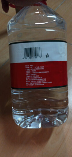 农夫山泉 饮用水 饮用天然水 透明装4L*6桶 整箱装 桶装水 晒单图