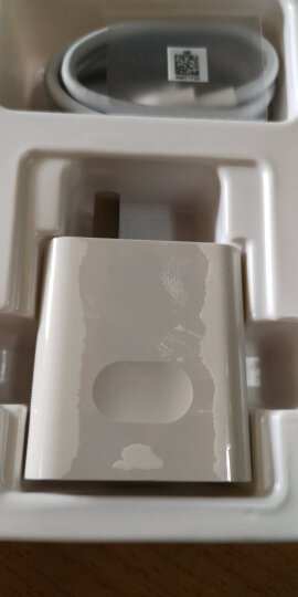 华为(HUAWEI)原装快充充电器/手机充电器/充电头 9V2A充电器+1mType C线套装 白色 适用于安卓类手机/平板 晒单图