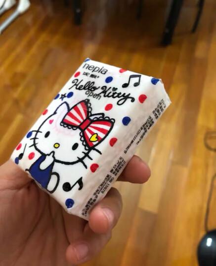 妮飘(nepia)手帕纸卡通系列hello kitty凯蒂迷你超萌印花3层*36包?无香 晒单图