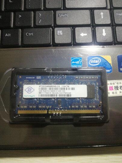 金士顿(Kingston) DDR3 1333 2g/4g/8g 3代笔记本电脑内存条 兼容1066 金士顿4g 1333笔记本内存条 晒单图