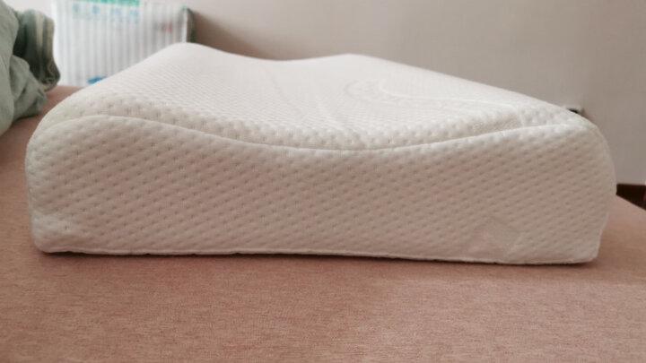 TAIPATEX 泰国天然乳胶枕头按摩颈椎高低枕单人枕芯60CM*34CM*11/13CM 晒单图