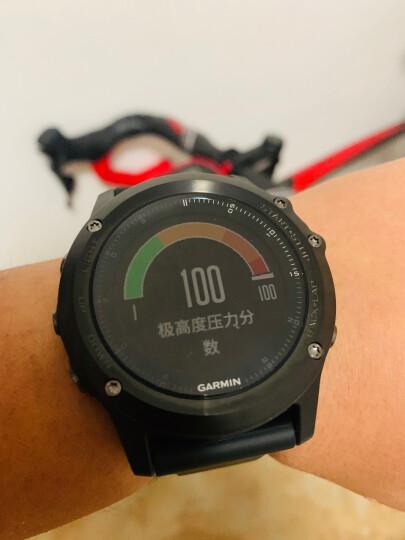 佳明(GARMIN)飞耐时fenix3/3HR光电心率双星定位多功能户外跑步登山游泳骑行滑雪运动智能中文蓝宝石DLC版 晒单图