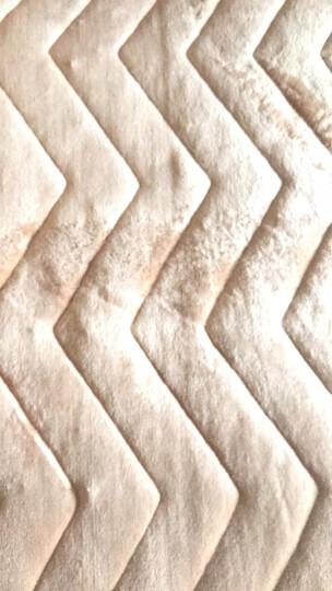南极人家纺 法兰绒床垫加厚榻榻米宿舍双人床褥子可折叠垫子垫被 升级版-羊毛床垫 180cm*200cm 晒单图