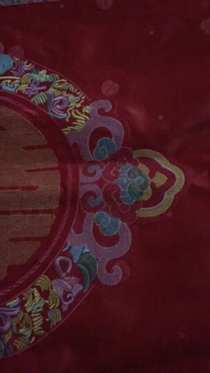 水星家纺 婚庆大红提花六件套 百合新娘 加大双人1.8米床 晒单图