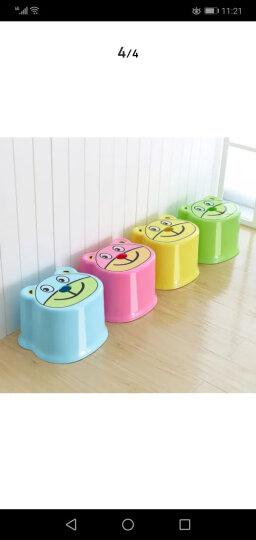 龙士达(LONGSTAR)塑料儿童凳子小板凳 浴室加厚防滑小矮凳子 LH-023红色 晒单图
