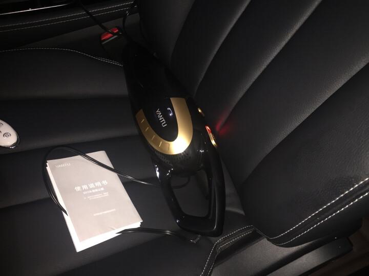 沿途 车载吸尘器 汽车吸尘器 有线 手持 车内手提 车用 干湿两用 汽车用品  120W大功率 大吸力 E03黑金色 晒单图