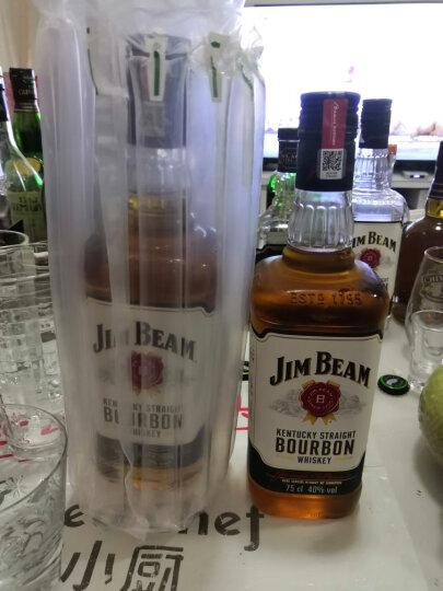 占边(Jim Beam)美国金宾波本威士忌洋酒 黑占边 晒单图
