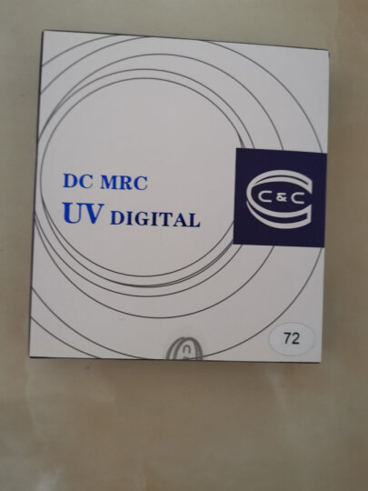 C&C uv镜40.5mm 滤镜 EX MRC UV 单反相机保护镜 超薄多层镀膜UV滤镜 无暗角 晒单图