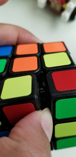圣手3阶魔方方圆三阶魔方比赛专用儿童男女小孩益智玩具送教程礼盒装专业版 黑色 晒单图