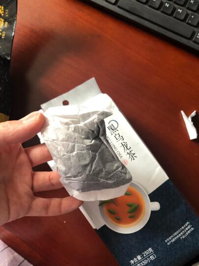 忆江南 茶叶 乌龙茶 油切黑乌龙茶 袋泡茶包 50小袋 250g 晒单图