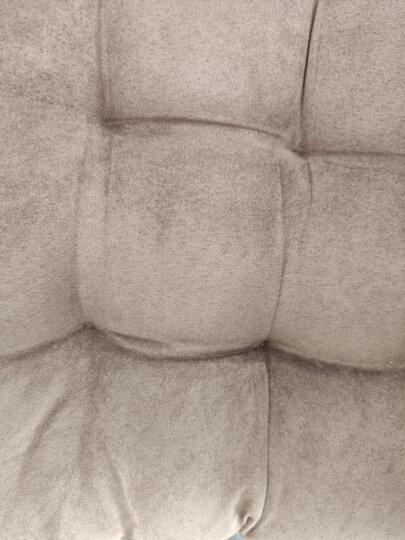 九洲鹿 坐垫家居 时尚加厚麂皮绒坐垫沙发垫子 办公室美臀坐垫汽车座垫单只装 紫色 42*42cm 晒单图