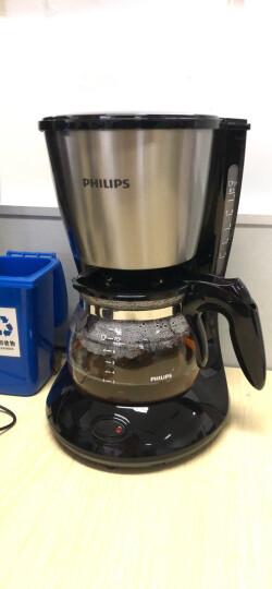 飞利浦(PHILIPS)咖啡机 家用滴漏式美式MINI咖啡壶 HD7435/20 晒单图