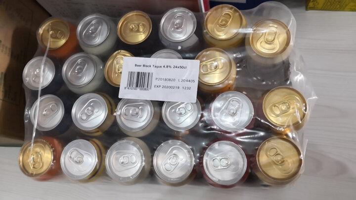 欧洲原装进口啤酒组合套装黑啤 白啤 黄啤500ml*24瓶装 晒单图