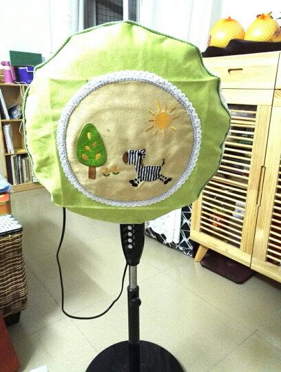 一朵 蕾丝电风扇罩 电扇罩 风扇罩布艺韩式田园欧式时尚 地中海简约现代 贴布绣葵花 晒单图