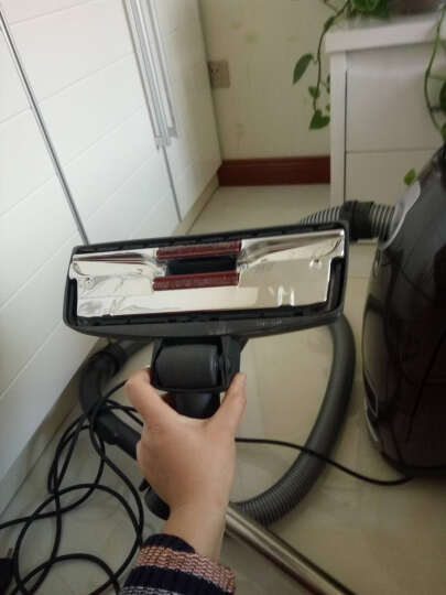美诺(Miele)SGDA1-16 C3德国原装进口 家用卧室真空吸尘器 吸力高达2000瓦 脚踏式操控(哈瓦那棕) 晒单图