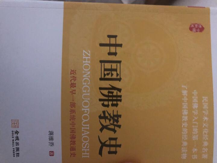 中国佛教史 晒单图
