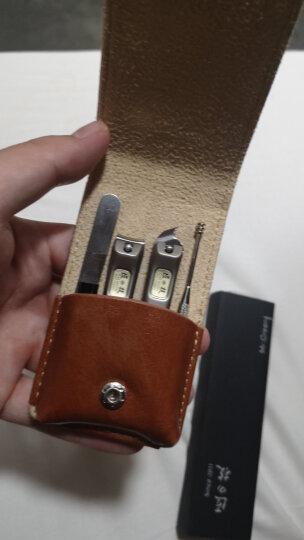 Mr.Green 不锈钢指甲刀套装含中号指甲刀斜口剪耳勺眉夹四件经典套装 M-6103 晒单图