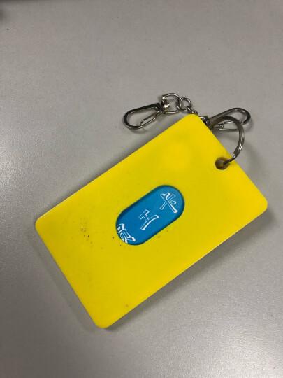 立体韩国可爱萌动物公交卡套 带钥匙扣学生卡套 卡通便携式公交卡套24种款 蓝色熊猫 晒单图