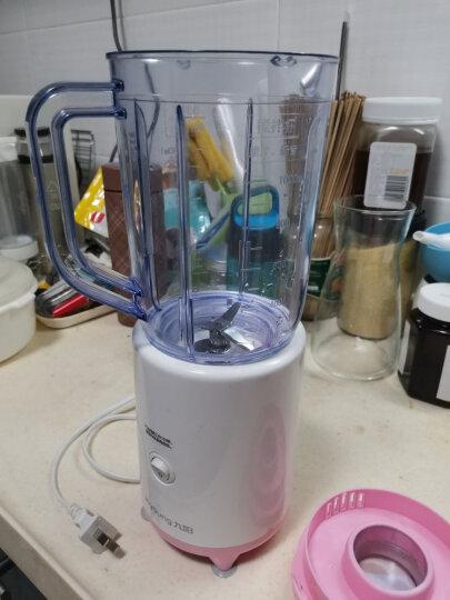 九阳(Joyoung)料理机家用多功能双杯榨汁机研磨榨汁杯婴儿辅食机绞肉机搅拌机果汁机小米糊 JYL-C50T 晒单图