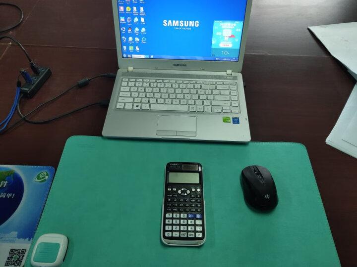 得力(deli)桌面发热垫发热鼠标垫 办公宿舍暖桌垫暖桌宝 附3C电源适配器 蓝色3689 晒单图