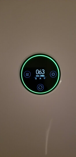 小米(MI)空气净化器2 智能家用卧室空气净化器除甲醛雾霾PM2.5 晒单图