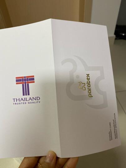 paratex 泰国进口天然乳胶枕头 枕芯 颗粒按摩乳胶枕 94%乳胶含量  礼品送礼红色礼盒装 晒单图