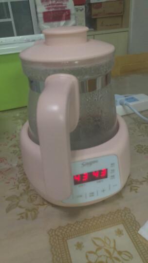 舒氏(SNUG)智能恒温调奶器 1.2L  婴儿宝宝冲泡奶粉暖奶器温奶器玻璃热水壶 S320F 晒单图